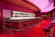 Bar La Vue - Hotel Concorde La Fayette La Vue at Concorde   There are two main draws to this mod lounge in the Concorde-Lafayette hotel: expert drinks mixed by a champion barman, and a panoramic view over the best of Paris. Both make it worthwhile to come. #travelcompanion