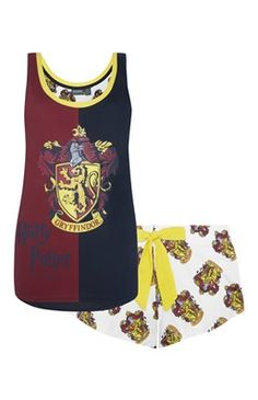 Gryffindor Harry Potter PJ Set