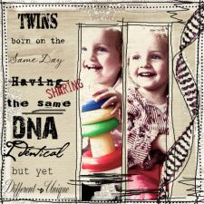 Twins shared by www.twinsgiftcompany.co.uk