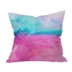 Jacqueline Maldonado Tidal Color Throw Pillow