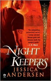 """Night keepers is a series based on mayan lore the author goes as far as making sure her last book is published before the """"end"""" date"""
