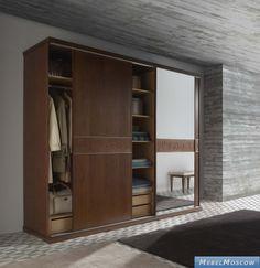 Monrabal Chirivella: Titanic: шкаф-купе с зеркалом  (дуб)