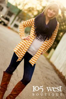 """The """"Karlie"""" Cardigan.  S, M, L.  ~  105 West Boutique located in Abbeville, SC.  (864) 366-WEST.  Look for us on Facebook!"""