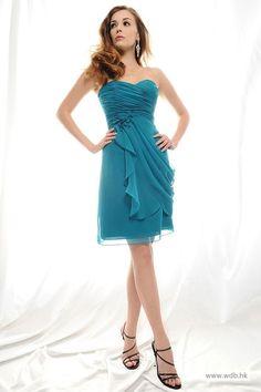 lace bridesmaid dresses Sweetheart chiffon bridesmaid dress with natural waist $101.8