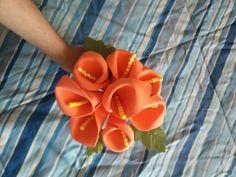 Foam Calla lily bouquet