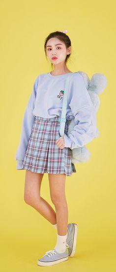 ⛈Korean Fashion|Baby Blue⛈ @oliwiasierotnik