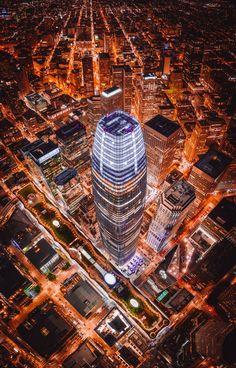 San Francisco's tallest skyscraper at… | HD photo by Denys Nevozhai (@dnevozhai) on Unsplash