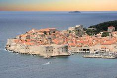 view in Dubrovnik, Croatia