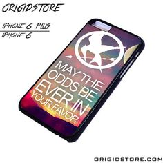 Hunger Game Logo Quote Case For Iphone 6/6Plus Case