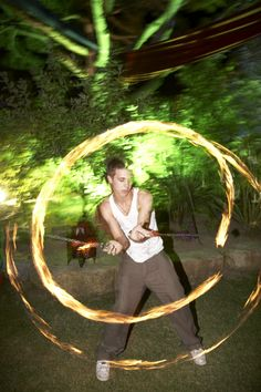 Fire Poi performances in the evening http://www.collection26.com/events/services/private-events/