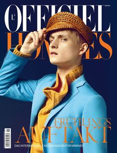 L'Officiel Hommes Germany #7 SS 2012 Alexander Laible by Errikos Andreou