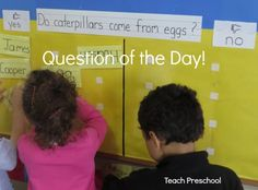 Question of the Day by Teach Preschool