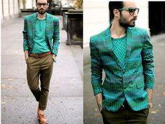 Love the color. Men should wear more of it.
