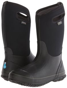 f4dcbe89ca05 Amazon.com  Bogs Classic High Handles Waterproof Insulated Rain Boot (Big  Kid)