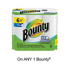 Bounty has added a new coupon to the SmartSource Canada coupon portal: Save when you buy any ONE Bounty® Product (excludes trial/travel size, Free Coupons By Mail, Online Coupons, Printable Coupons, 3 Online, Ruffles Potato Chips, Bounty Paper Towels, Potato Snacks, Donate To Charity, Travel Size Products