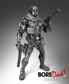 Commando Snake Eyes (G.I. Joe) Custom Action Figure