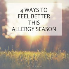 Got allergies? Here are 4 ways I manage my allergies to feel my best this allergy season - #BeGreater #ad @Flonase