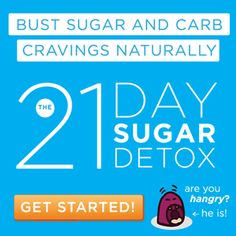 21 Day Sugar Detox - sugar free diet plan