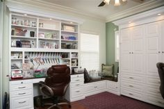 Totally would love a craft room like this one day!