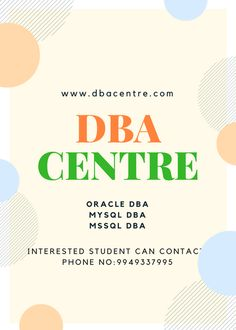 Database training centre in Hyderabad