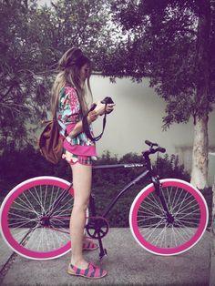 Fashion Coolture Instagram bike blackflea #summer