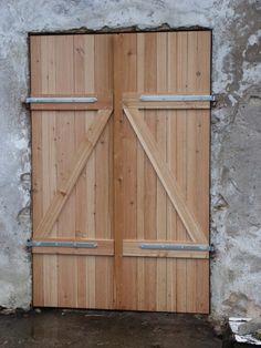 Garagentor Oder Stalltor Selbst Bauen Manuel Pinterest Garage