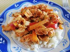 Zöldséges csirkemell 🍲 Eclairs, Cauliflower, Barbie, Chicken, Meat, Vegetables, Food, Bulgur, Cauliflowers