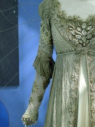 Luscious lace and embroidery | www.myLusciousLife.com - The dress worn in the movie Ever After