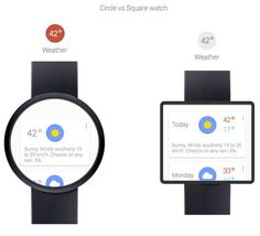 The Google Smartwatch is Rumored to Face-Off Samsung and Apple #smartwatches trendhunter.com