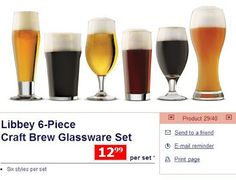 Homebrew Finds: Reader Tip: In Store - Libbey Craft Beer Glassware at Aldi - $12.99