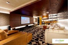 #steellayer #decor #decoracao #projeto #especial #special #interior #ambiente #livingroom #room #comfort #conforto #inovacao #exclusividade #inovacao