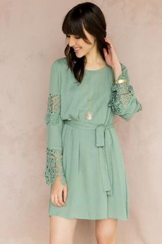 Canterbury Crochet Dress  48.00 Womens Clothing Stores b80c52ed660c