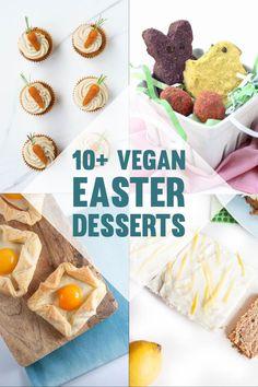 Delicious Vegan Recipes, Vegan Desserts, Dessert Recipes, Easter Cupcakes, Easter Desserts, Hot Cross Buns, Carrot Cake, Sweet Recipes, Easter Eggs