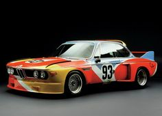BMW | art cars | primary colors | creative | painted