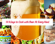 In honor of #NationalBeerDay, here are delicious ways to incorporate brew in everything you eat today, from morning waffles to a dinner brisket.