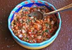 Try this delicious Chilean-style salsa with chile peppers and cilantro.: Pebre - Chilean Chile Pepper Salsa