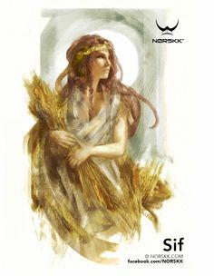 Ásynjur: Sif: Goddess of Harvest