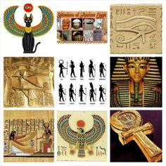 Symbols of Ancient Egypt Ancient Artifacts, Ancient Egypt, Ancient World History, Egypt Culture, The Ancient One, Egyptian Symbols, Greek Gods, Ancient Civilizations, Crete