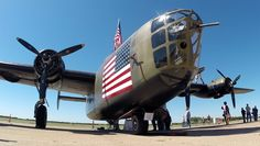 B-24 Liberator ( Diamond Lil ) - Photo taken at the Commemorative Air Force (CAF) Expo at Dallas Executive Airport.