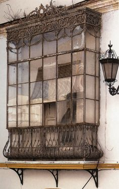 I rarely add personal comment to my pins but this is an exception, I love this window and wonder what is beyond it, it's lovely