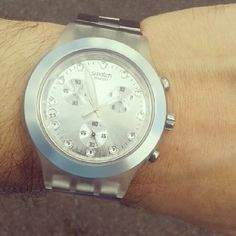 Swatch Watch, Full-Blooded Silver