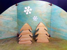 Reversible Nature Table backdrop. christmas waldorf steiner | Folkwood | madeit.com.au
