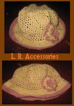 Crochet hat (Heklani šeširić)
