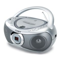 Coby CXCD236 CD Boombox with AM/FM (Discontinued by manufacturer)