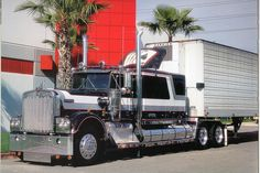 Guess the year and model! Big Rig Trucks, New Trucks, Custom Trucks, Cool Trucks, Ranger, Cat Engines, Trailers, Custom Big Rigs, Old Tractors