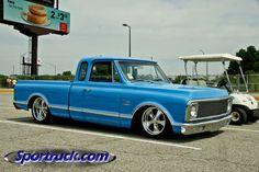 sportruck com image 2 from nsra street rod nationals 2013 67 72 Chevy Truck, Classic Chevy Trucks, Chevy C10, Chevy Pickups, Chevrolet Trucks, Small Trucks, Mini Trucks, C10 Trucks, Pickup Trucks