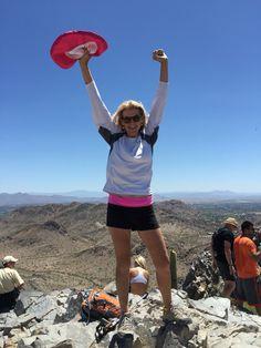 On top of Squaw Peak! #activemoms