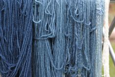 Indigo Dye Experiments - Sweet Paprika Designs Wool Yarn, Merino Wool, Turn Blue, Indigo Dye, Cool Patterns, Blue Fabric, My Design, Sweet, Blog