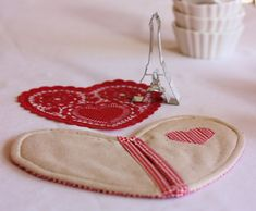 Valentine Pot Holder - A Spoonful of Sugar