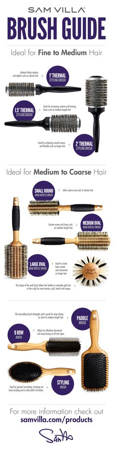 Choosing The Right Brush For Fine Medium And Co Hair